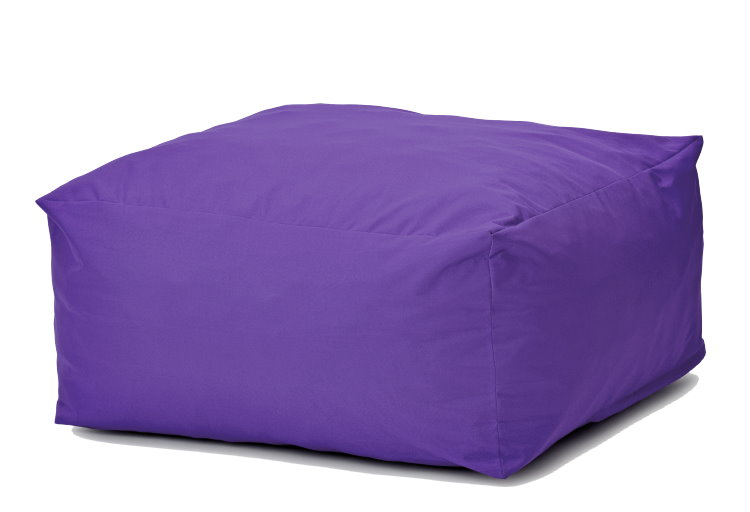 sitzsack mit hocker lila grijzemuren. Black Bedroom Furniture Sets. Home Design Ideas